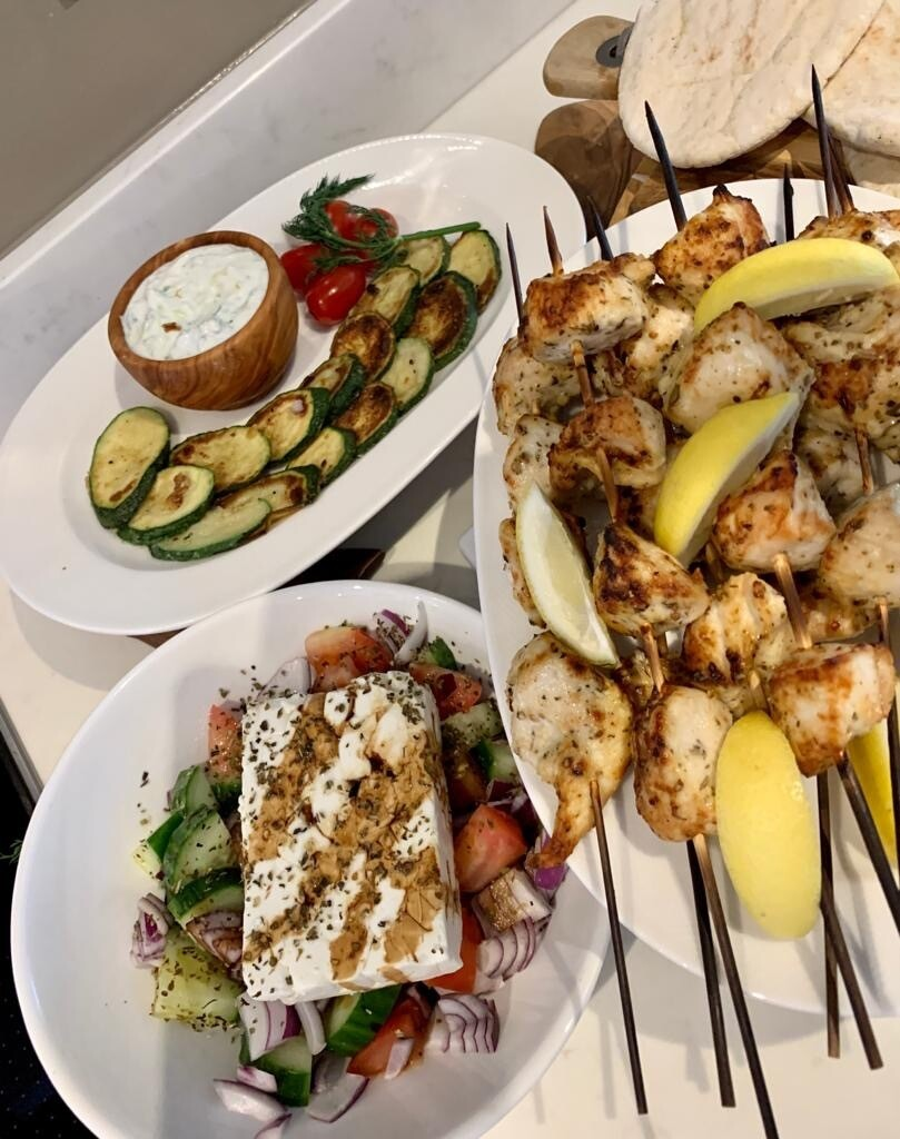 Spiros Greek Meze Meal