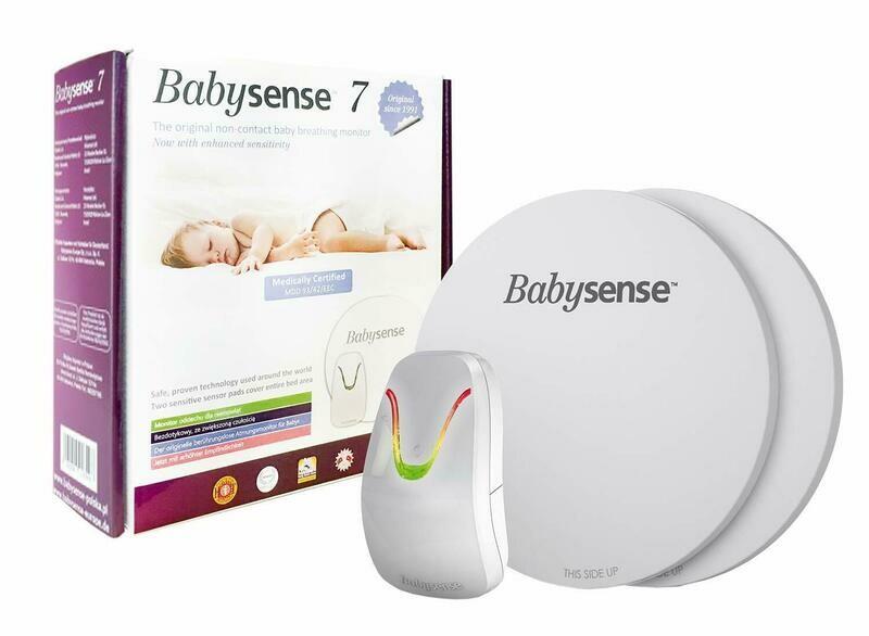 BABYSENSE 7 Baby Atmungsmonitor mit 2 Sensormatten. Medizinisch zugelassenen!