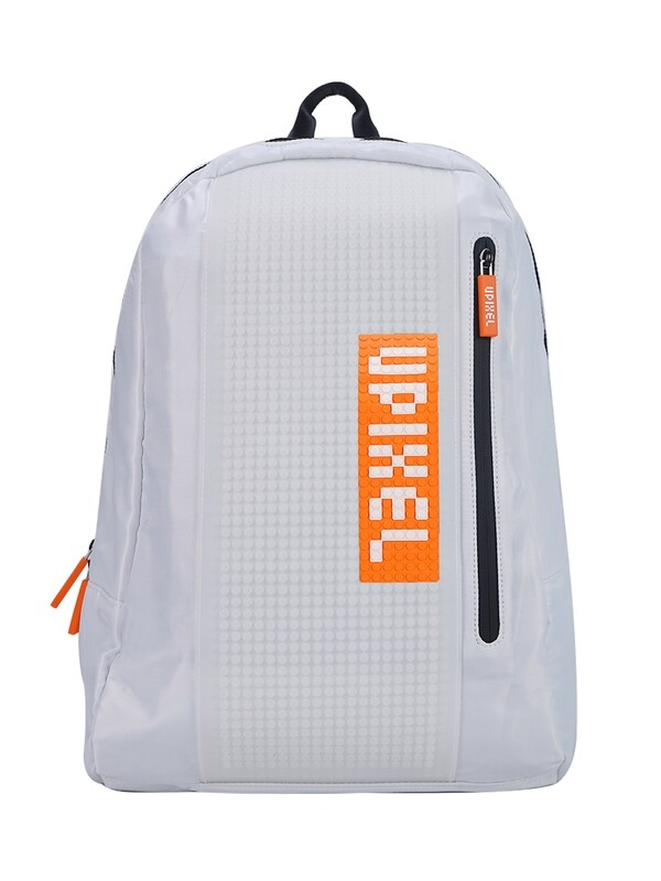 Рюкзак пиксельный белый