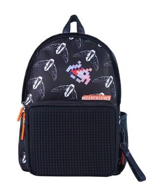 Рюкзак пиксельный Independence черный