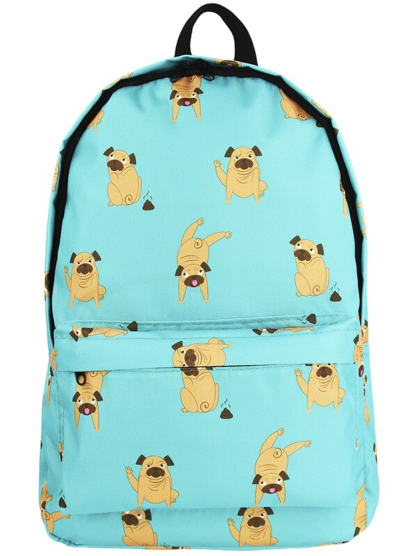 Рюкзак с мопсами