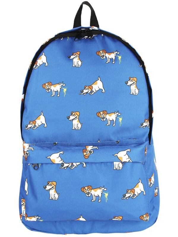 Рюкзак с щенками