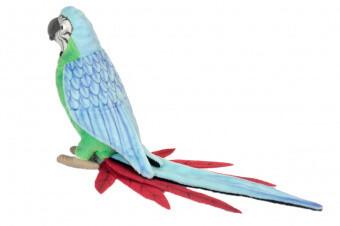 Попугай зеленый (37см)