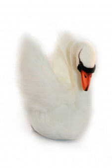 Белый лебедь (32см)
