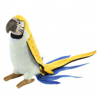 Попугай голубой (37см)