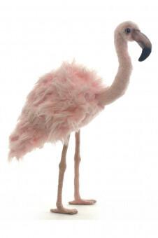Розовый фламинго (38 см)