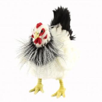Курица черно-белая (27см)