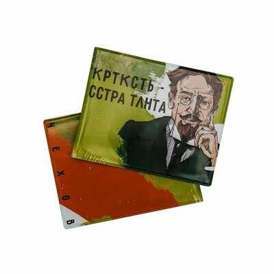 Обложка на студенческий билет с Чеховым