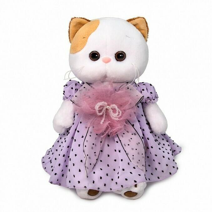 Ли-Ли в нежно-сиреневом платье