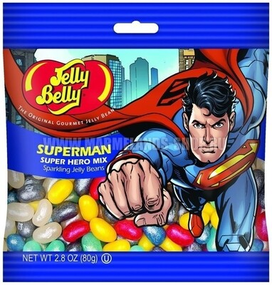 Драже Jelly Belly Superman 80гр США