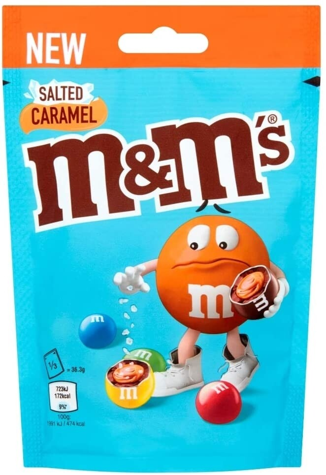 m&m salted caramel 109g