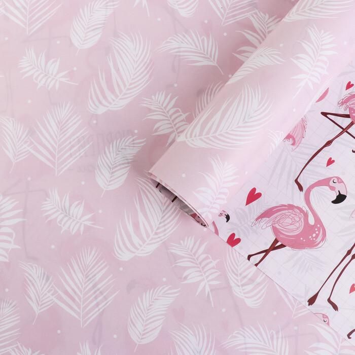 Бумага глянцевая двухсторонняя «Фламинго»