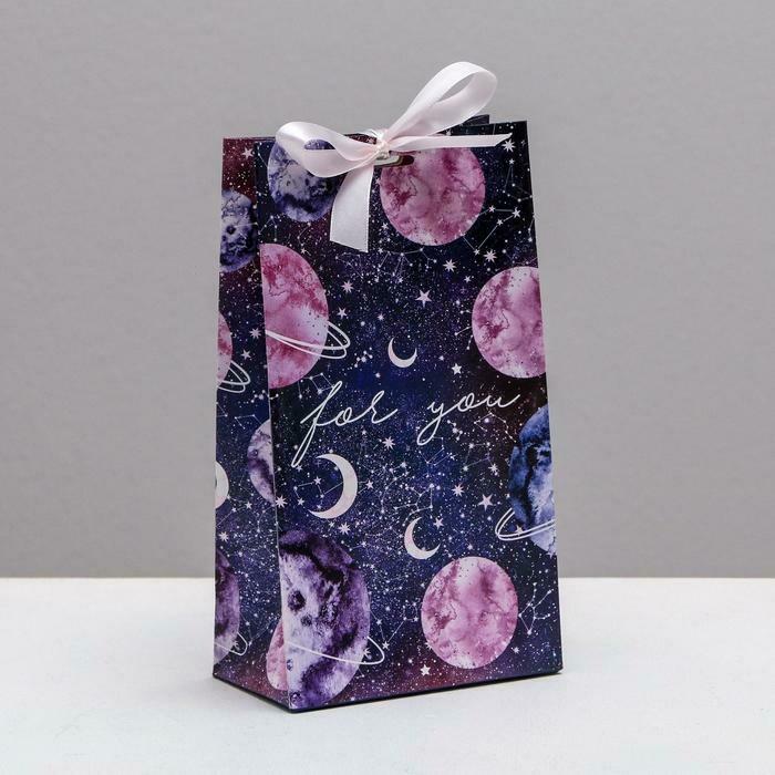 """Пакет подарочный """"For you"""""""
