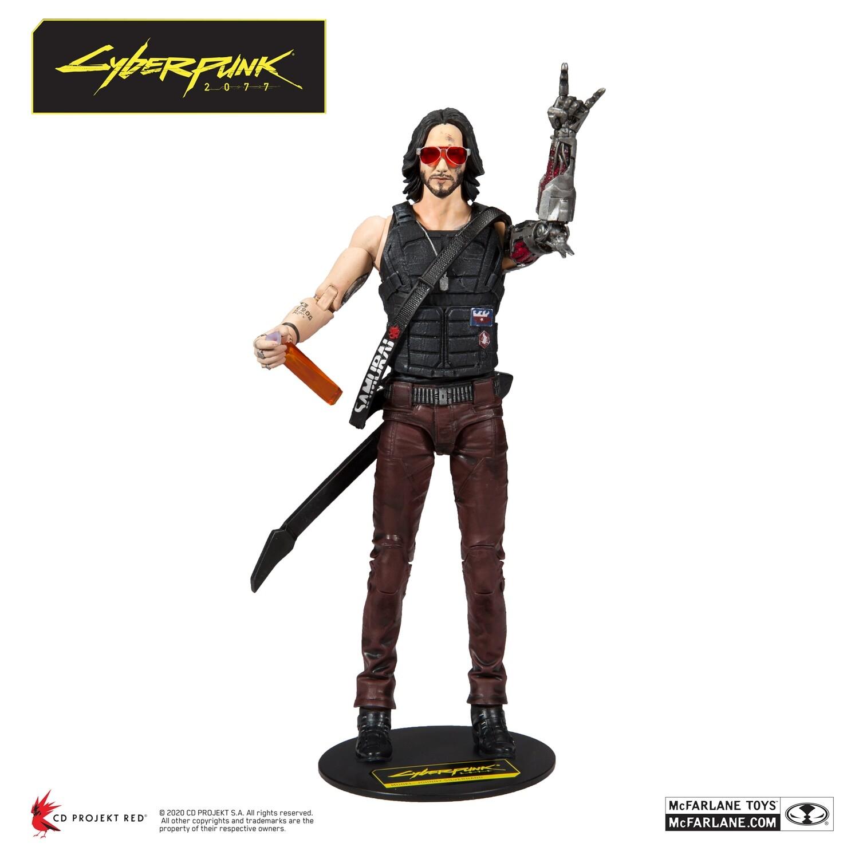 Джонни Сильверхенд (Cyberpunk 2077) 18см