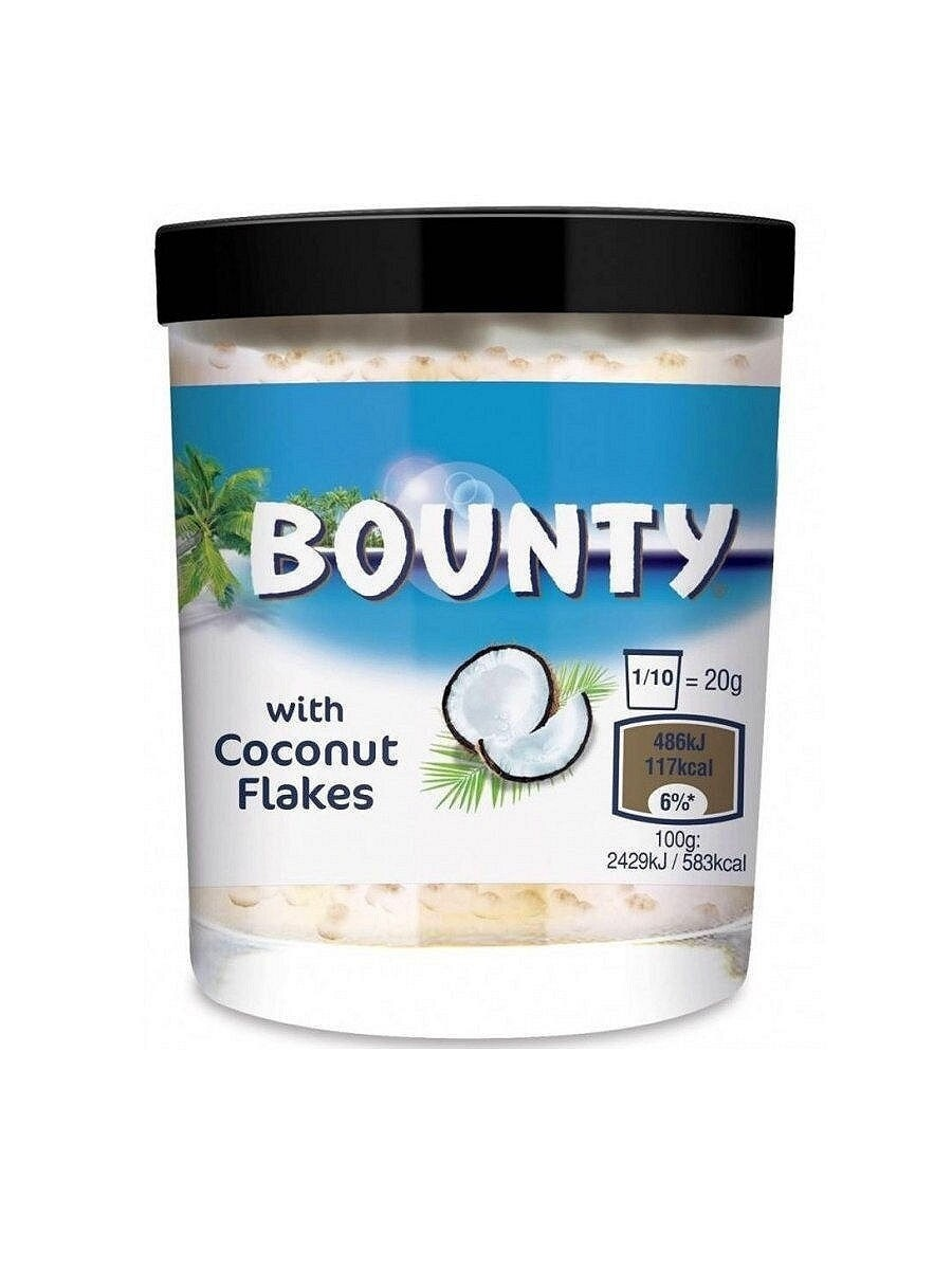 Bounty Brotaufstrich (шоколадная паста)