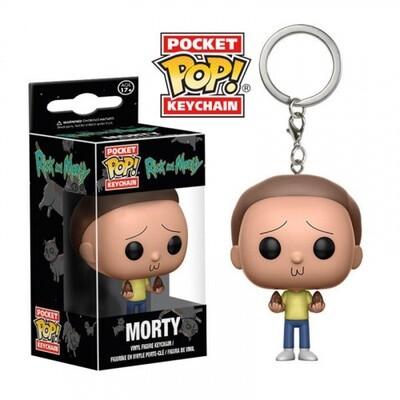 Брелок Pocket POP Keychain Rick and Morty Morty