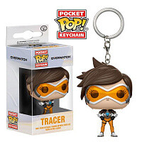 Брелок Pocket POP Keychain Overwatch Tracer