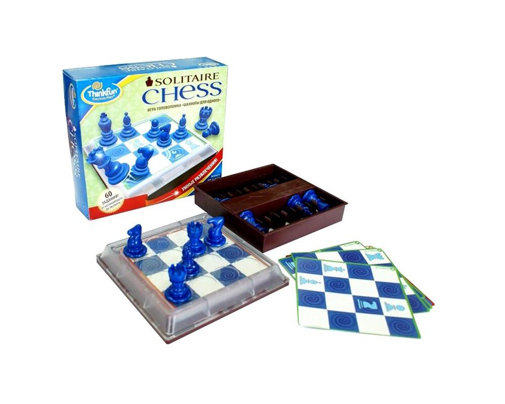 Настольная игра-головоломка Шахматы для одного