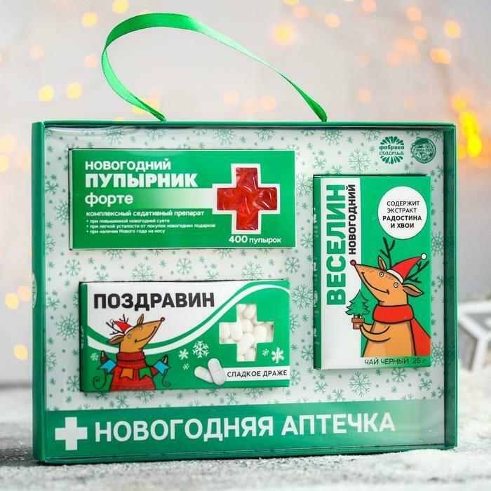 Новогодняя аптечка «Поздравин»