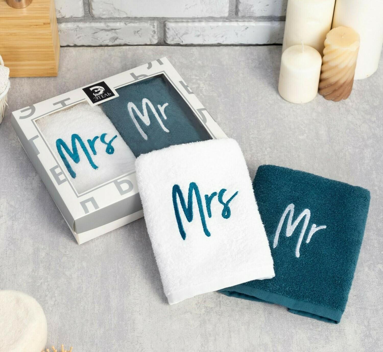 """Набор полотенец """"Mr&Mrs"""""""