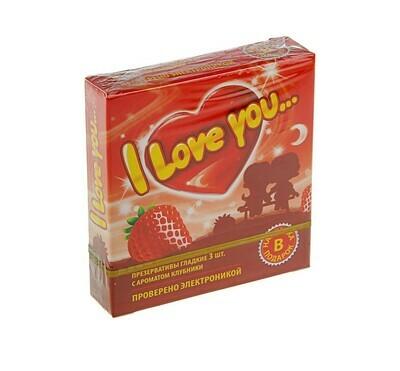 Презервативы I Love You