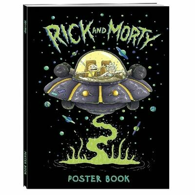 Рик и Морти. Постер-бук