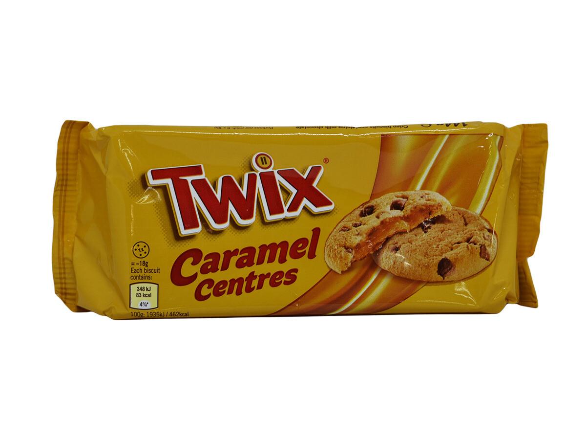 Печенье Twix Caramel Centres