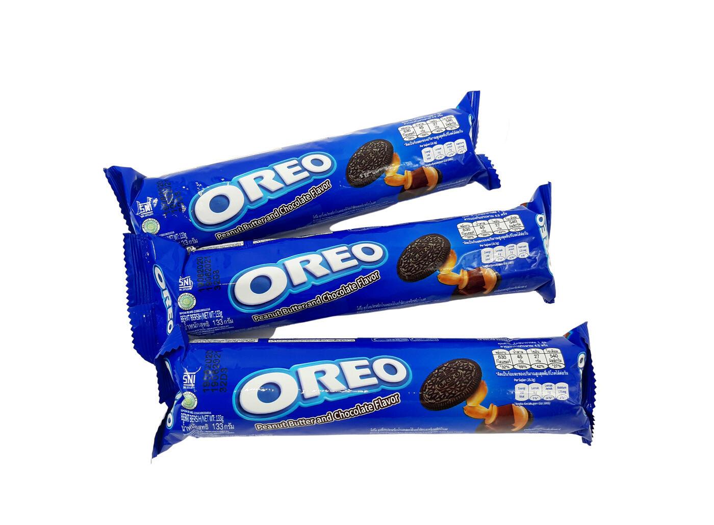"""Печенье Оrео """"Арахисовое масло и шоколад"""" с шоколадным и ореховым"""