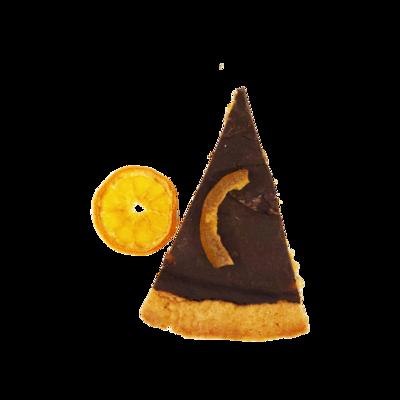 Crostata con Arance Amare e Cioccolato