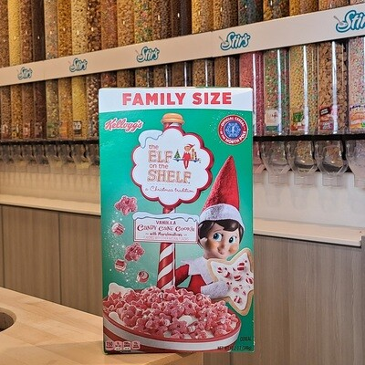 2 Elf On The Shelf Cereal Boxes
