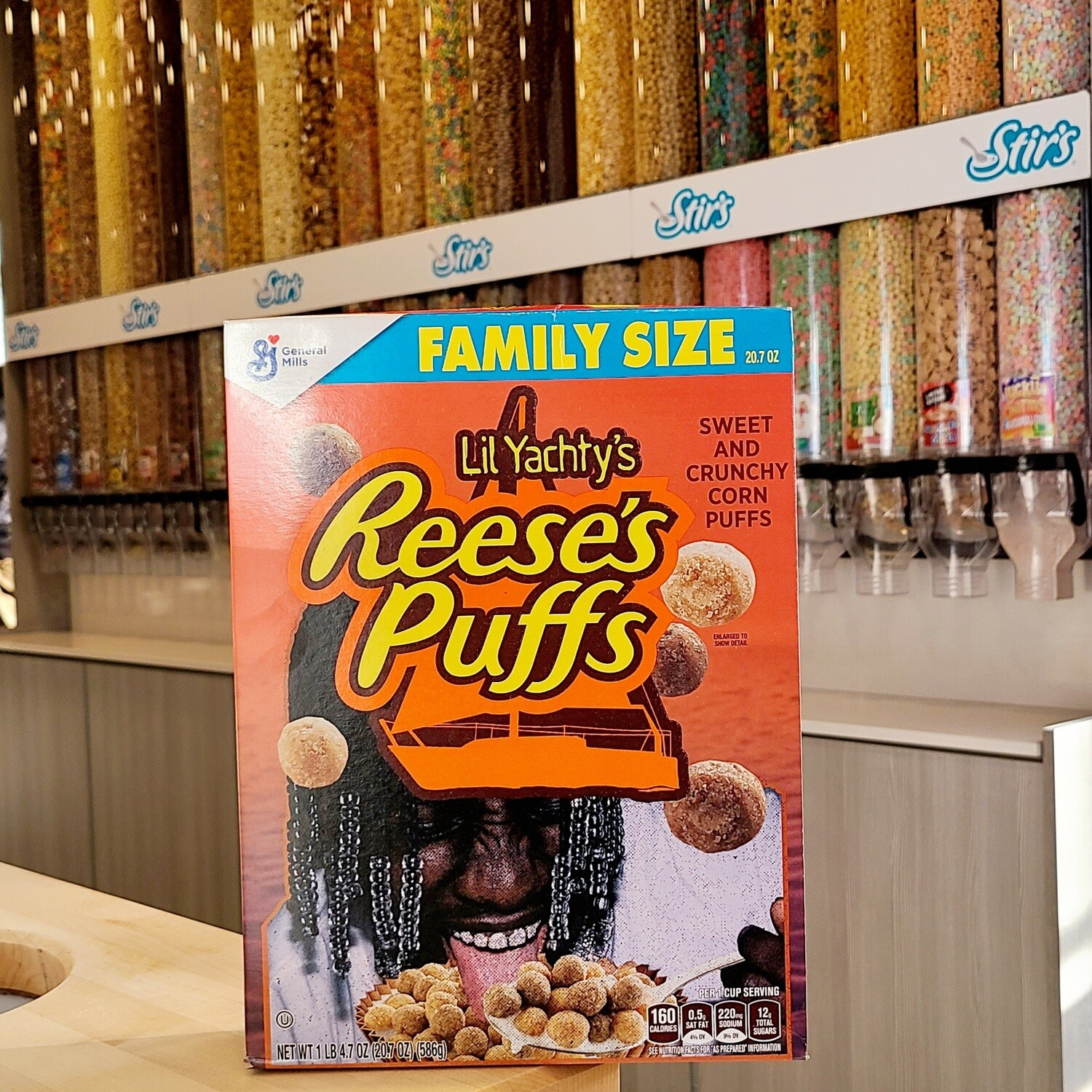2 Lil Yachty's Reese's Puffs Boxes