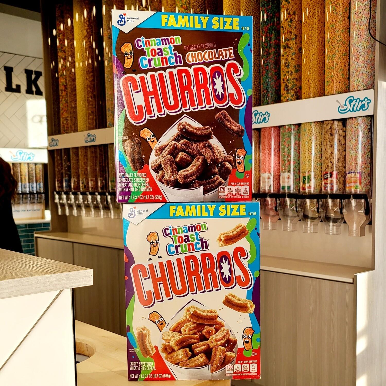 2 Cinnamon Toast Crunch Churros Boxes