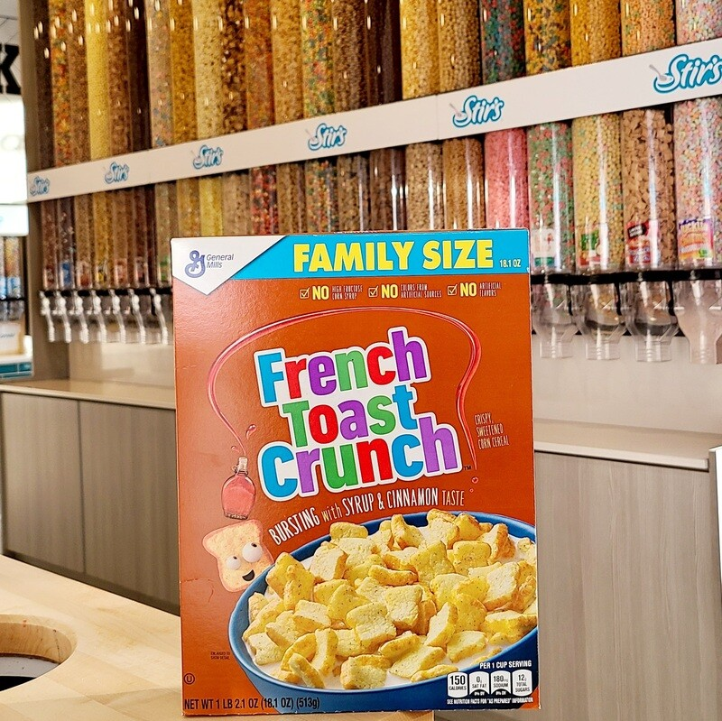 2 French Toast Crunch Boxes