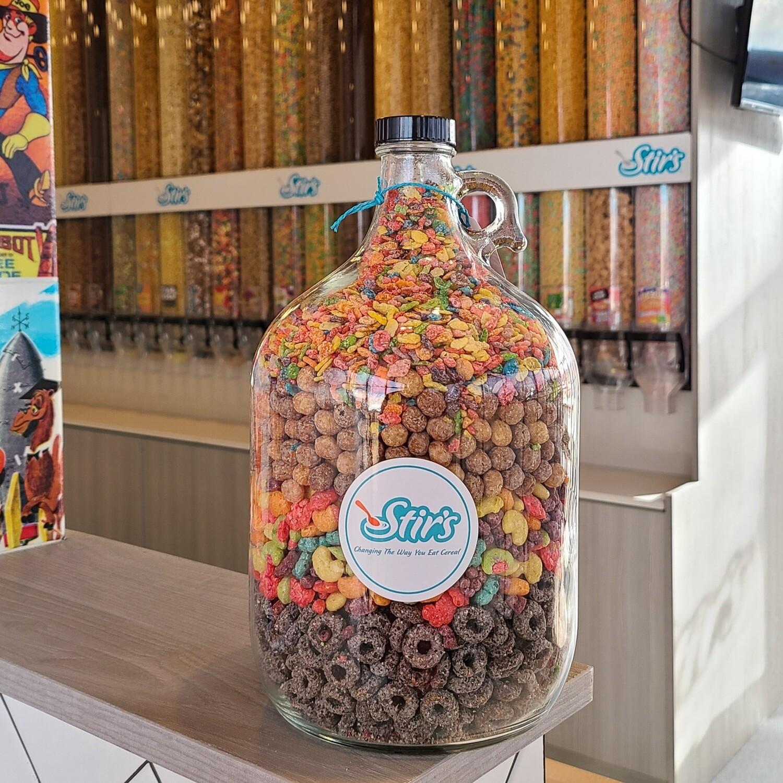 Gallon Cereal Jug