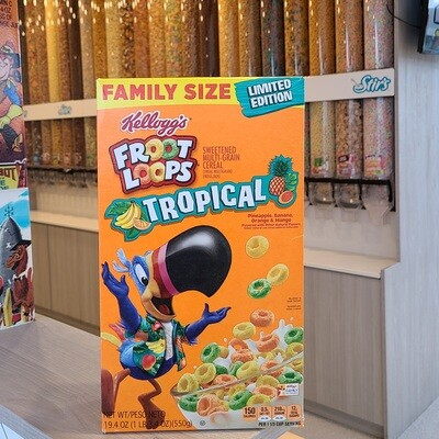 2 Froot Loops Tropical Boxes