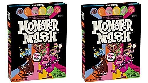 2 Monster Mash Limited Edition Cereal Boxes