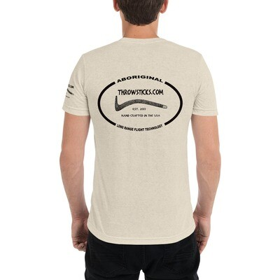 Throwsticks Short Sleeve T-Shirt (with back logo)