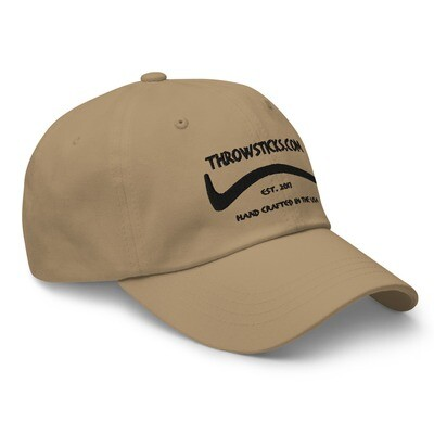 Throwsticks Dad Hat (with buckle back adjustment)