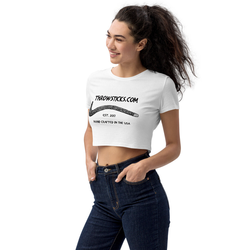 Throwsticks Organic Women's Crop Top