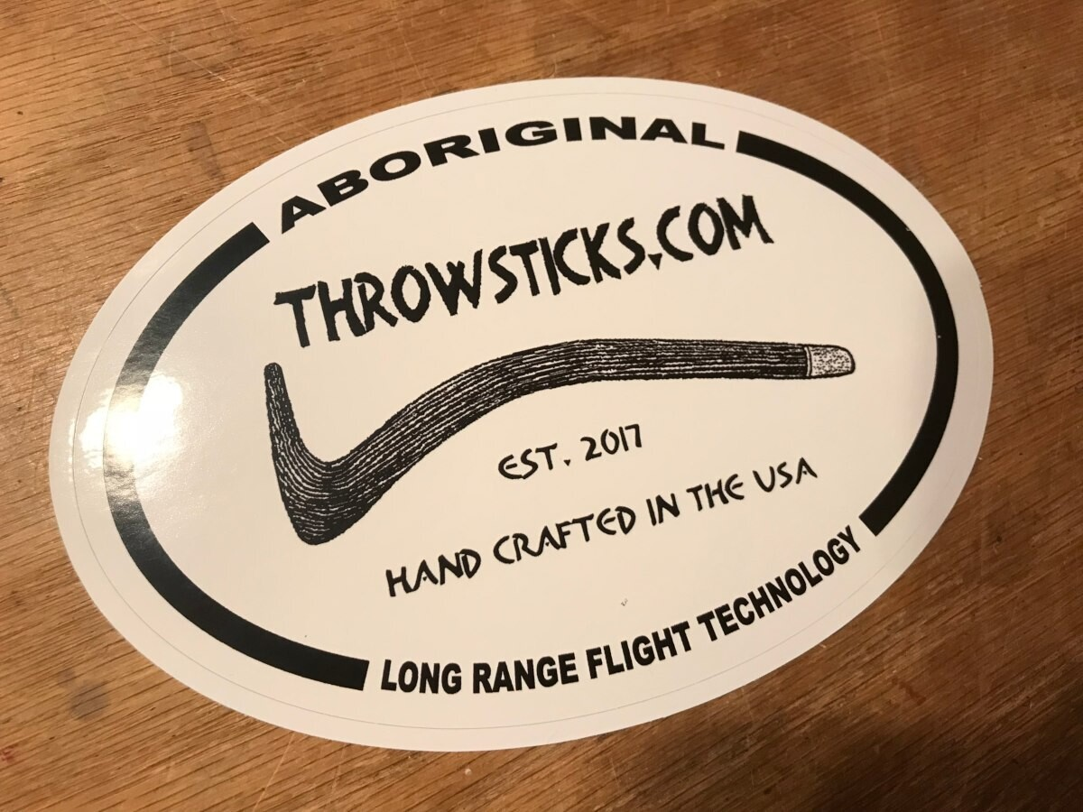 Throwsticks Bumper Stickers