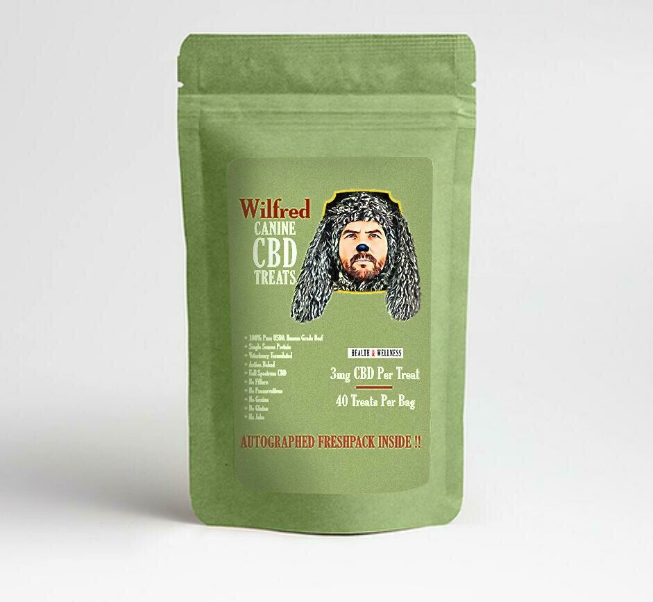 Wilfred's CANINE HEALTH + WELLNESS CBD TREATS