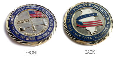 Flag Day Monument Commemorative Coin