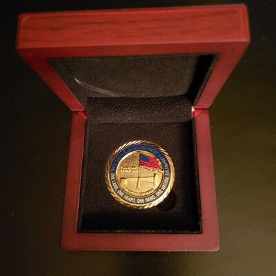 Challenge Coin Gift Box (Challenge Coin Sold Separately)