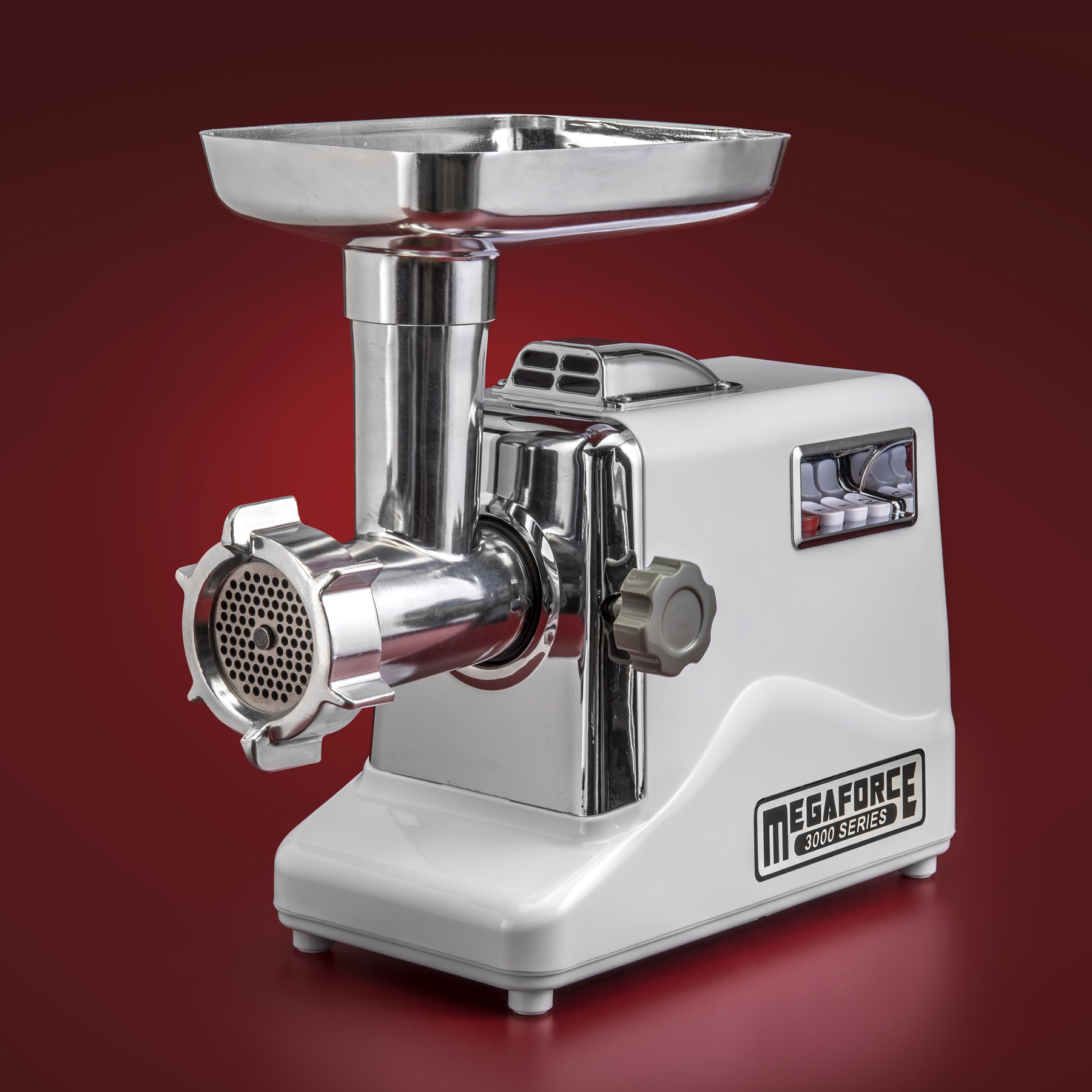 "STX Megaforce 3000 ""Classic Edition"" Heavy Duty ""Air Cooled"" Electric Meat Grinder & Sausage Stuffer Complete Package"