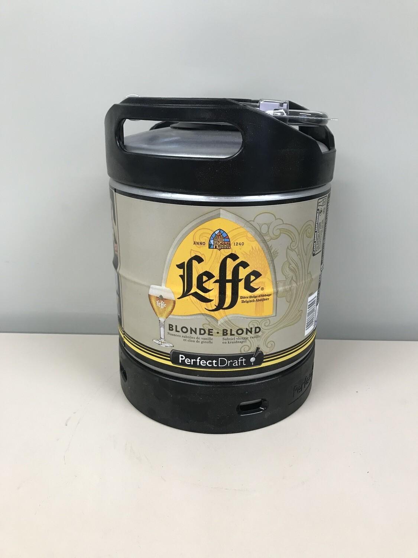 biere leffe blonde 6.6% fut perfecdraft