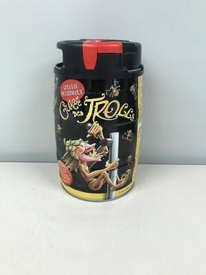 biere cuvee des trolls blonde 7% fut 5lts