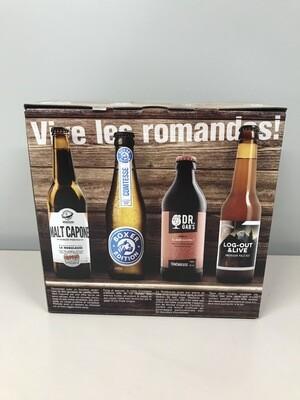 coffret vive les romandes 8 bieres