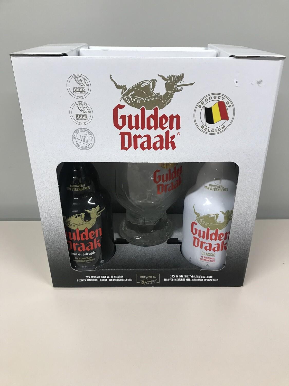 coffret gulden draak33 cl  2 bouteilles +1verre