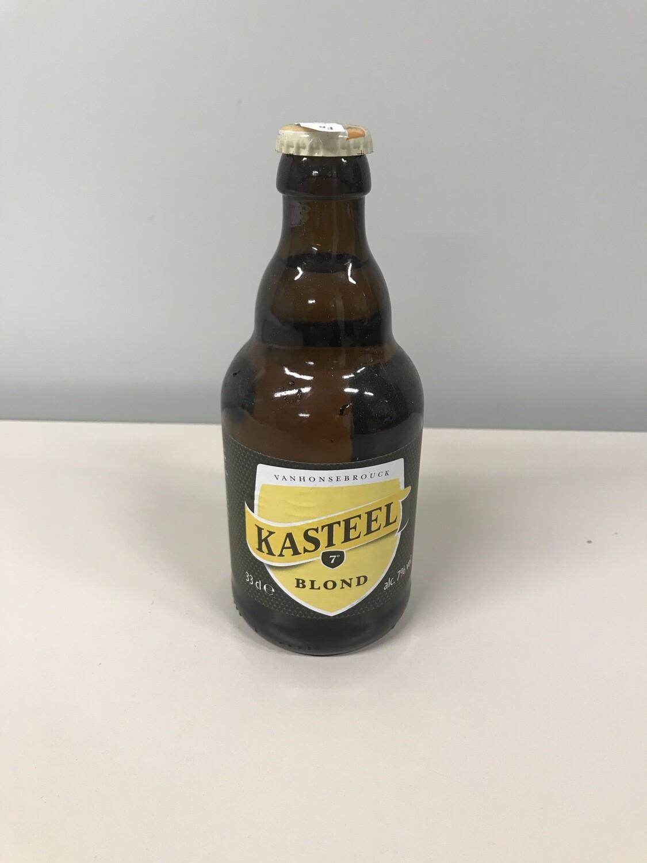 biere kasteel blonde 7% 33cl