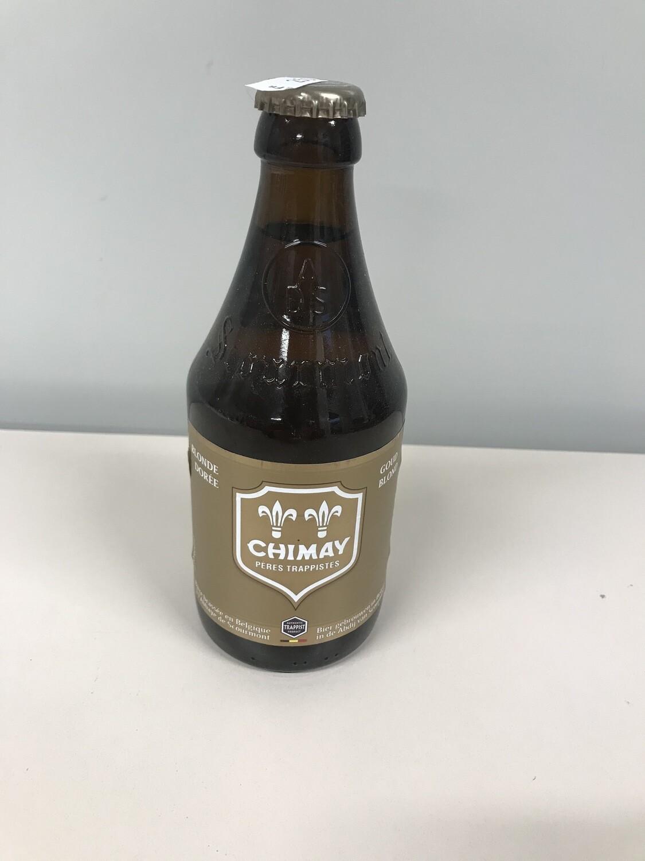 biere chimay blonde 4.8% 33cl